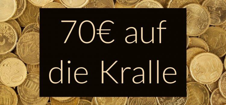 70 € Geschenkt von Amazon